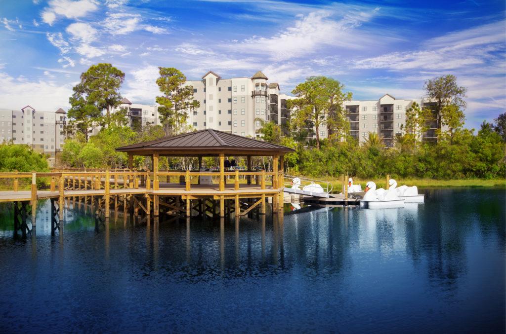 PIER WITH DUCKS - the grove resort orlando - homesbyrau