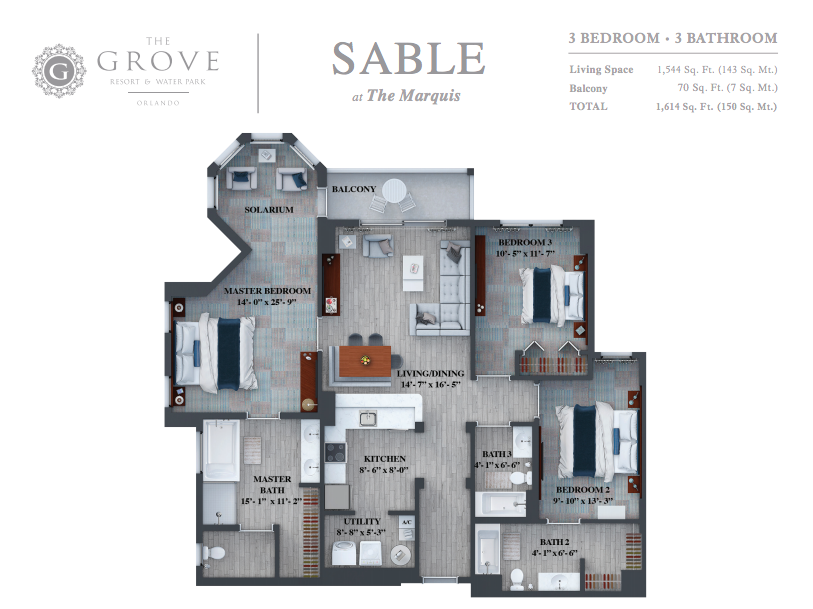 THE GROVE ORLANDO SABLE HOMESBYRAU