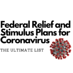 Federal Relief and Stimulus Plans for Coronavirus Covid-19